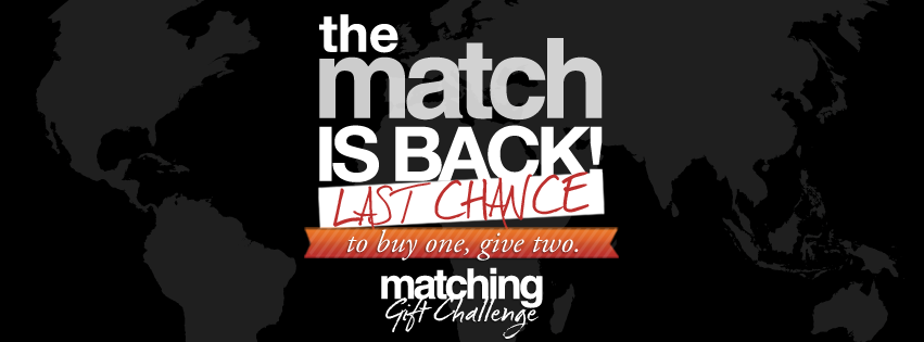 Last Chance for the Match!