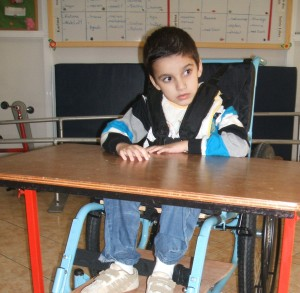 Ayoub with Wheelchair