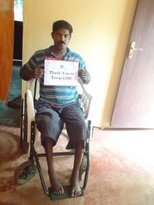 Mr. KV in India