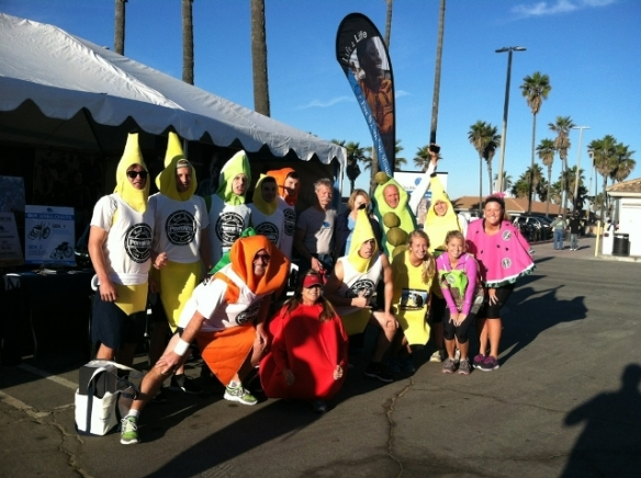 This team went bananas!--okay, we're really sorry about that.