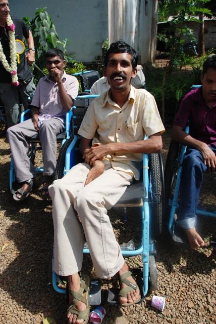 Recipient in India