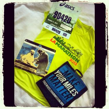 2013 ASICS LA Marathon