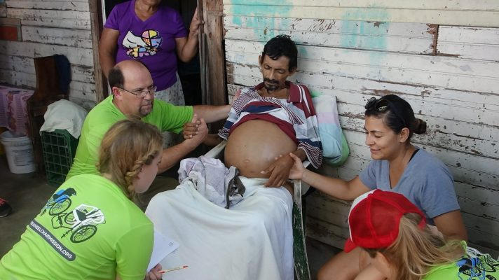 praying for a man from Nicaragua